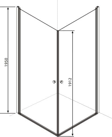 Kabina Prysznicowa Dla Niepełnosprawnych Bez Progu 80x80 Cm